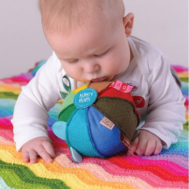 O.B Designs Flipity Flops Rainbow Sensory Dingle Ball | Koop.co.nz
