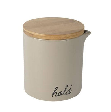 Capacity Storage Jar & Lid - Ash 900ml | Koop.co.nz