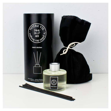 Notre Vie Reed Diffuser (100ml) - Chefs Kitchen | Koop.co.nz