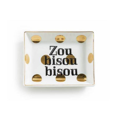 Rosanna Inc Trinket Tray - Zou Bisou Bisou | Koop.co.nz