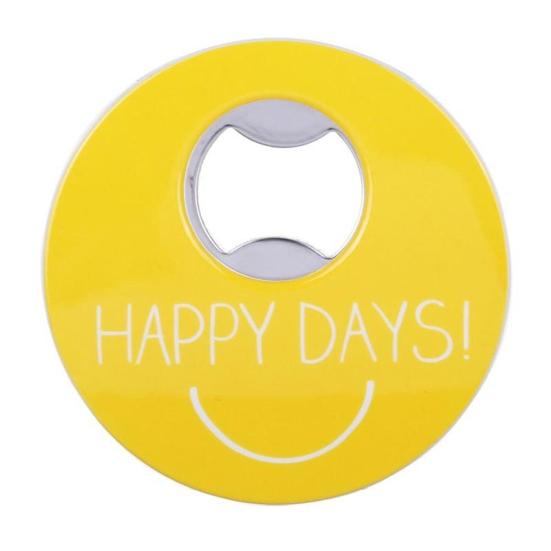 Happy Jackson Magnetic Bottle Opener - Happy Days | Koop.co.nz