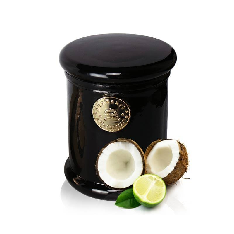 Surmanti Long Burning EcoSoya Candle - Lime & Coconut | Koop.co.nz