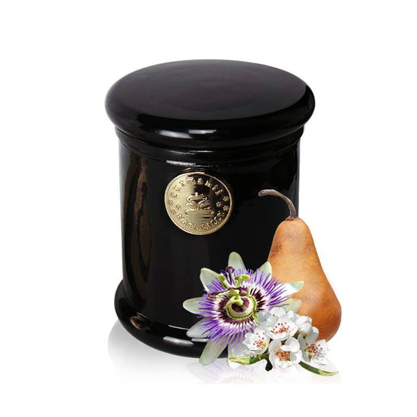 Surmanti Long Burning EcoSoya Candle - Pear & Passionflower | Koop.co.nz