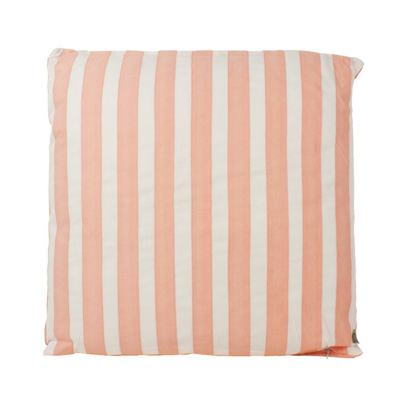 The Good Housewife Stripe Cushion - Chintz Rose | Koop.co.nz