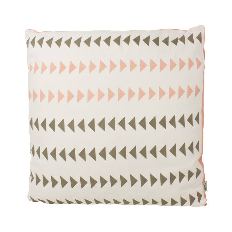 The Good Housewife Arrow Cushion - Chintz Rose | Koop.co.nz