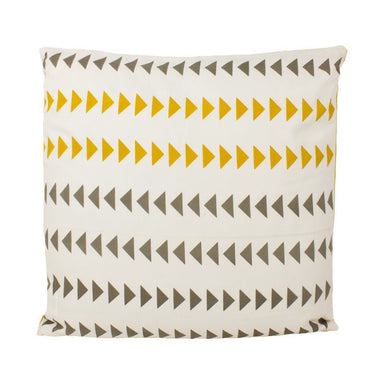 The Good Housewife Arrow Cushion - Sulphur | Koop.co.nz