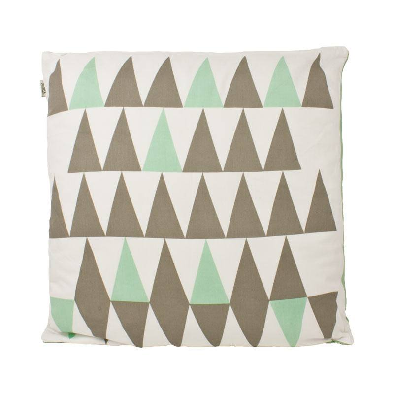 The Good Housewife Peak Cushion - Silt Green | Koop.co.nz
