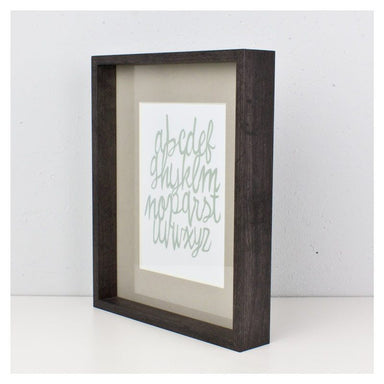 Present Time Timbre Photo Frame - Black | Koop.co.nz