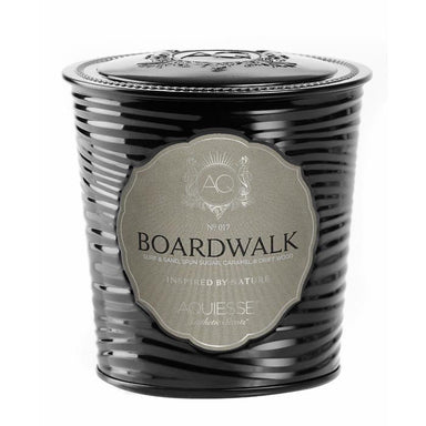 Aquiesse Portfolio Tin Candle with Matchbox - Boardwalk | Koop.co.nz