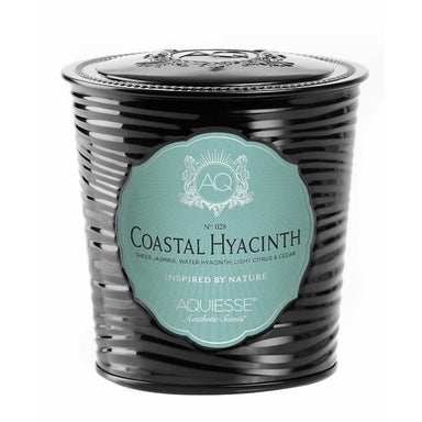 Aquiesse Portfolio Tin Candle with Matchbox - Coastal Hyacinth | Koop.co.nz