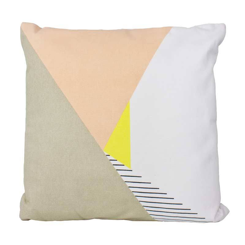Stoneleigh & Roberson Peach Retro Cushion | Koop.co.nz