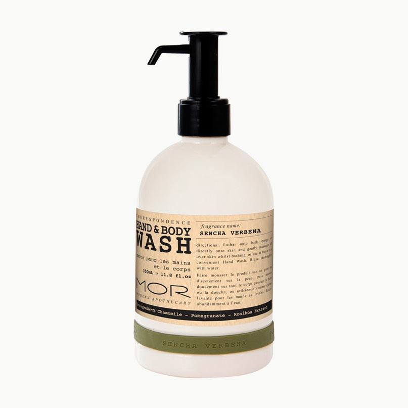 MOR Boutique Correspondence Hand & Body Wash (350ml) - Sencha Verbena | Koop.co.nz
