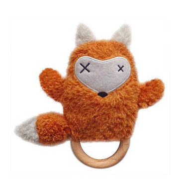 O.B Designs Ding A Ring Teether Rattle - Frank Fox | Koop.co.nz
