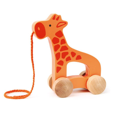 Hape Push & Pull Giraffe | Koop.co.nz