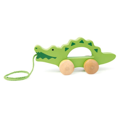 Hape Push & Pull Crocodile | Koop.co.nz