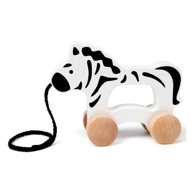 Hape Push & Pull Zebra | Koop.co.nz
