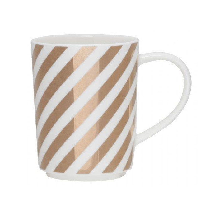 General Eclectic Gold Stripe Mug | Koop.co.nz