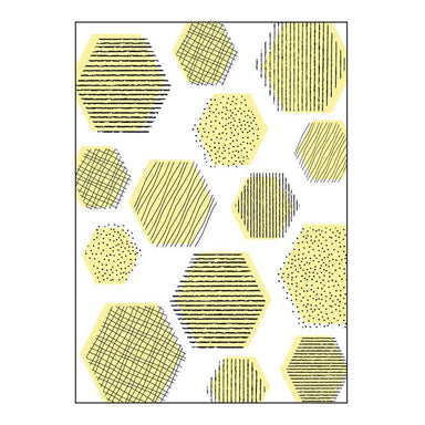 Jason Spot & Lines Hexagon Tea Towel | Koop.co.nz