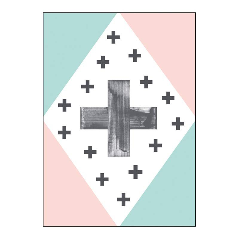 Jason Multi Cross Tea Towel | Koop.co.nz