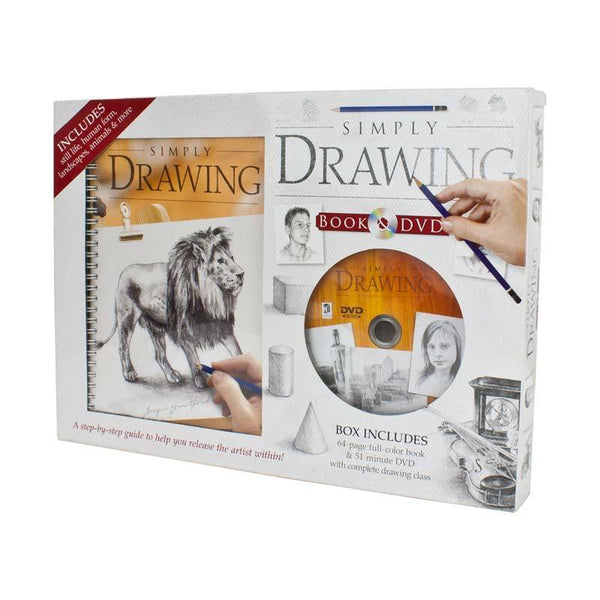 Hinkler Simply Drawing DVD & Book Set | Koop.co.nz