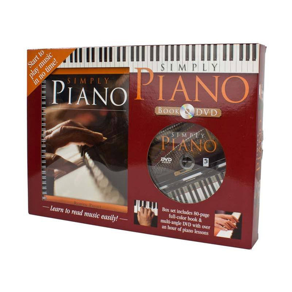 Hinkler Simply Piano DVD & Book Set | Koop.co.nz