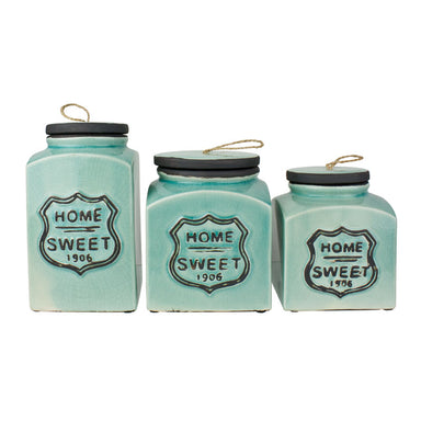 Mayon Decorative Home Sweet Home Canisters | Koop.co.nz