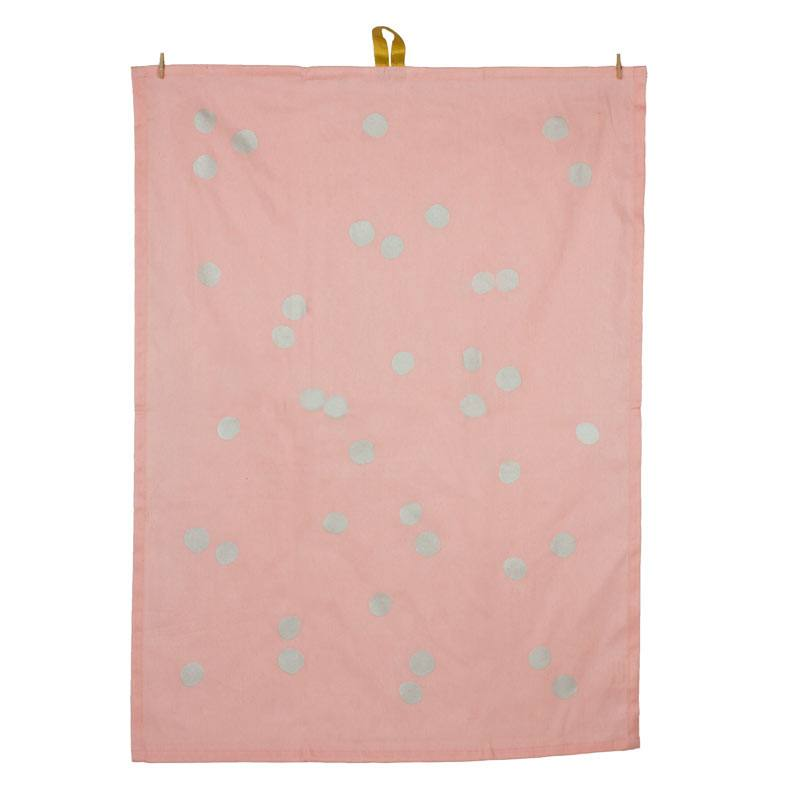 Emilie Silver Spot Tea Towel | Koop.co.nz