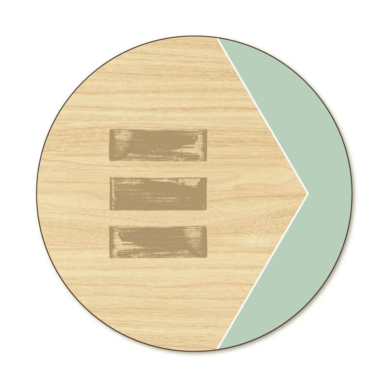 Jason Balance Round Placemat | Koop.co.nz