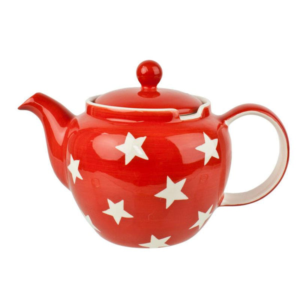 Whittard Red Star Teapot 1.1L | Koop.co.nz