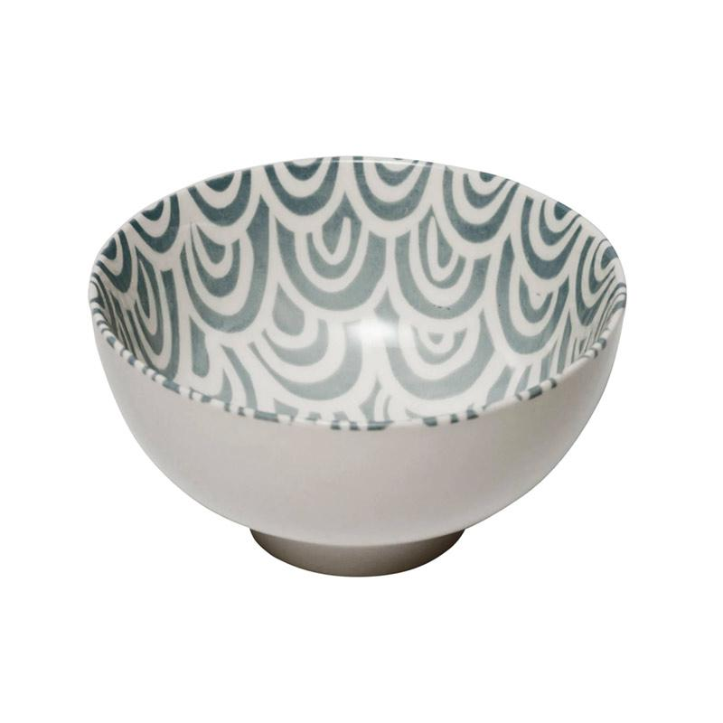 General Eclectic Grey Scallop Bowl - Medium | Koop.co.nz