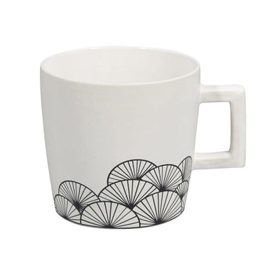 Jennifer Dumet Square Handle Fan Mug | Koop.co.nz