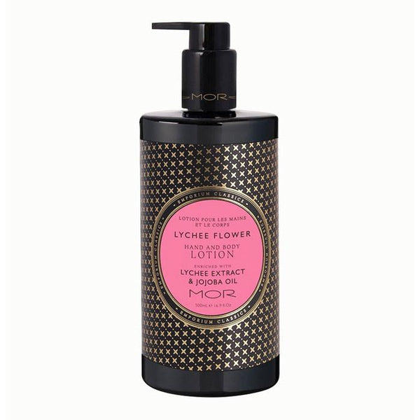 MOR Boutique Emporium Hand & Body Lotion (500ml) - Lychee Flower | Koop.co.nz