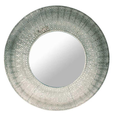 Le Forge Large Silver Marrakesh Mirror (96cm) | Koop.co.nz