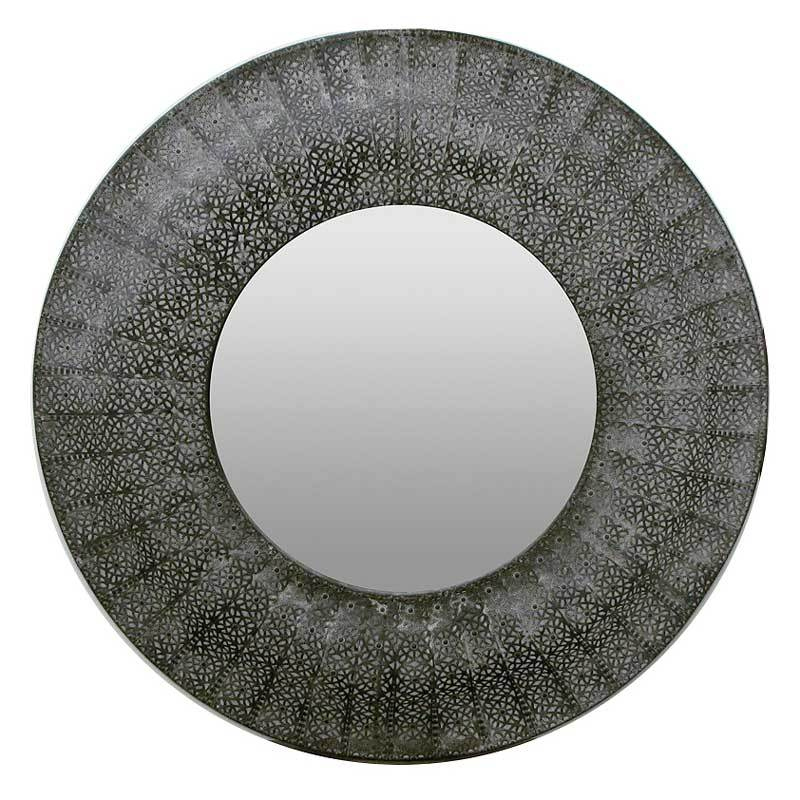 Le Forge Large Black Marrakesh Mirror (96cm) | Koop.co.nz