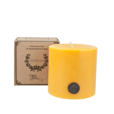 Notre Vie Small Parisian Pillar Candle | Koop.co.nz