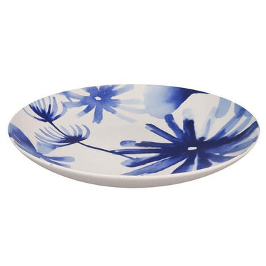 Jennifer Dumet Blue Flower Plate (30cm) | Koop.co.nz