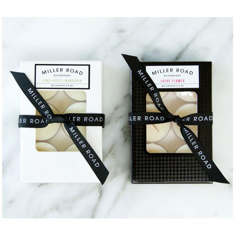 Miller Road Devonport 6hr Tea Light Soy Candles – Bamboo & White Lily | Koop.co.nz