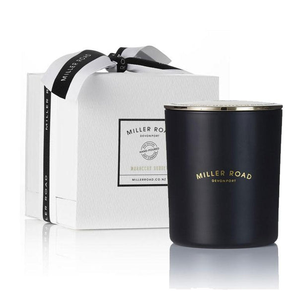 Miller Road Devonport Luxury Range Soy Candle - Moroccan Sunset | Koop.co.nz