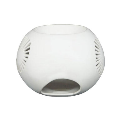 Jennifer Dumet Urchan Oil Burner - Matte White | Koop.co.nz