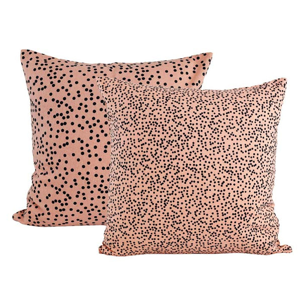 Raine & Humble Jungle Spot Pink Cushion | Koop.co.nz