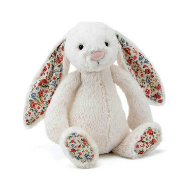 Jellycat Blossom Bashful Cream Bunny - Medium | Koop.co.nz