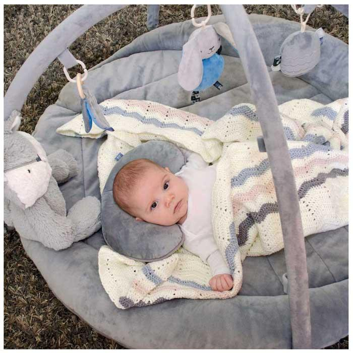 O.B Designs Woodlands Activity Playmat - Blue | Koop.co.nz