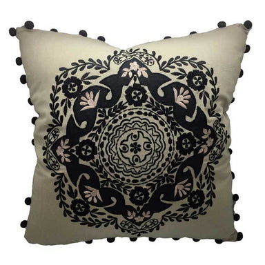 Rembrandt Fine Arts Handmade Pom Pom Cushion | Koop.co.nz