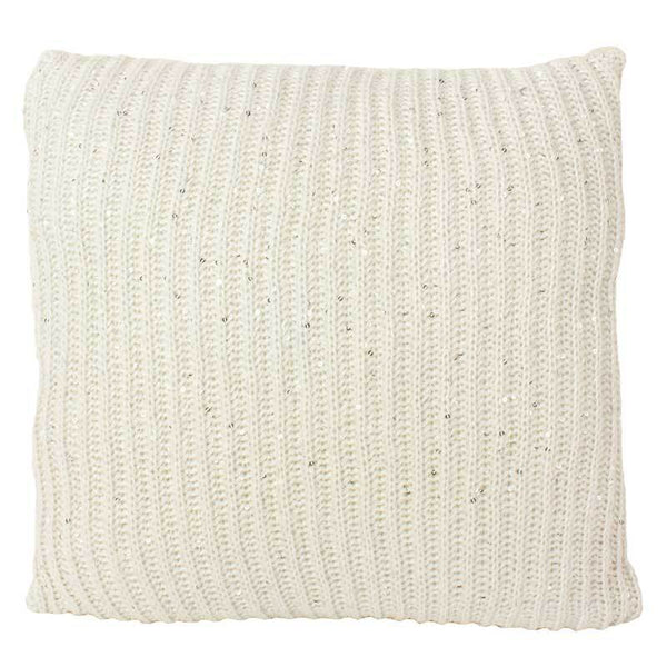 Emporium Cream Langham Knit Cushion (40cm) | Koop.co.nz