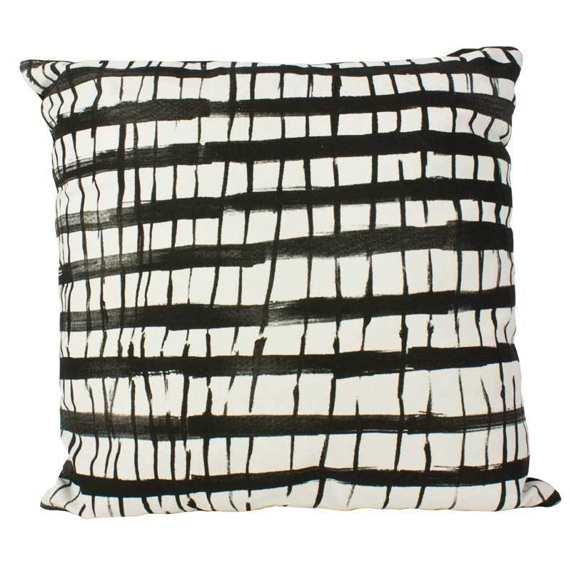 Emporium Jett Squares Cushion (45cm) | Koop.co.nz