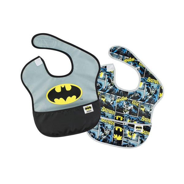Bumkins Waterproof SuperBib - Batman (2pk) | Koop.co.nz