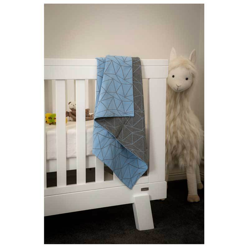 Emotion & Kids Blue Galaxy Cotton Baby Blanket | Koop.co.nz