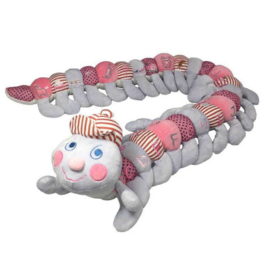 Baby Boo A-Z Striped Caterpillar – Pink (160cm) | Koop.co.nz