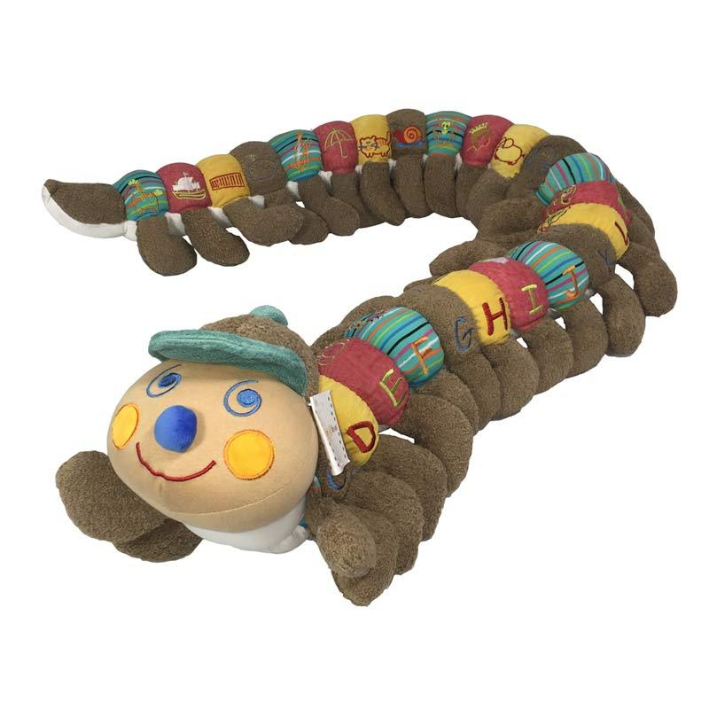 Baby Boo A-Z Caterpillar – Brown (160cm) | Koop.co.nz