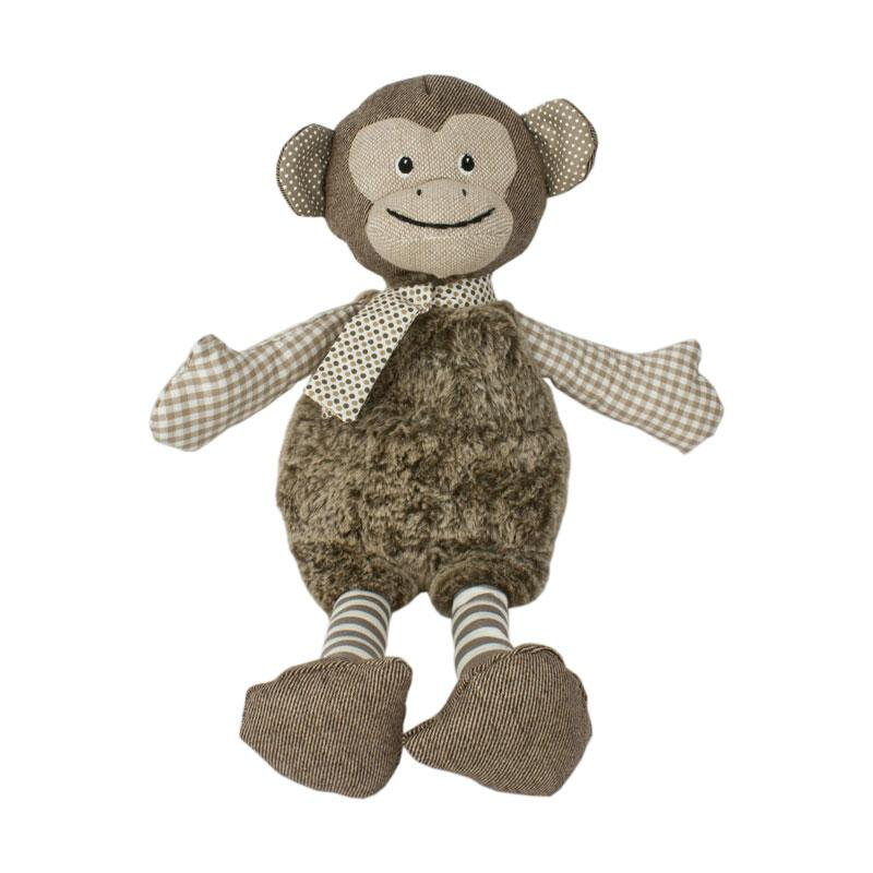 Baby Boo Monkey With Scarf | Koop.co.nz